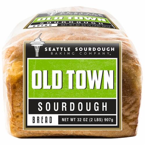 Seattle Sourdough Baking Co. Old Town Sourdough Bread Perspective: bottom