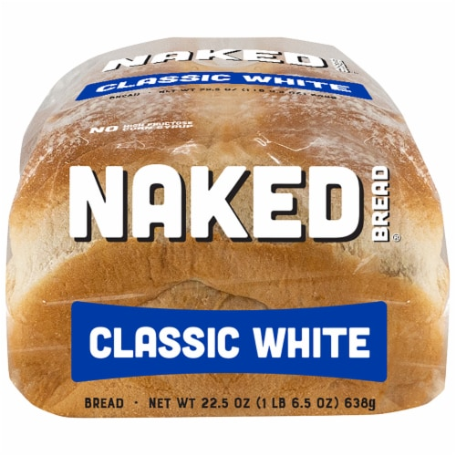 Naked Bread® Classic White Sandwich Bread Perspective: bottom