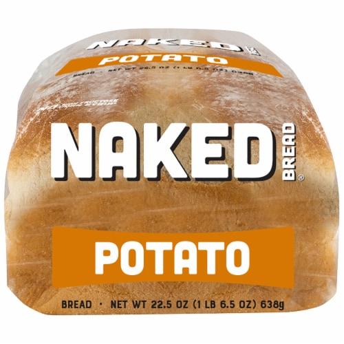 Naked Bread® Potato Sandwich Bread Perspective: bottom