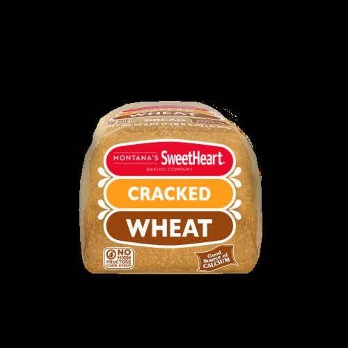 Montana's Sweetheart® Cracked Wheat Bread Perspective: bottom
