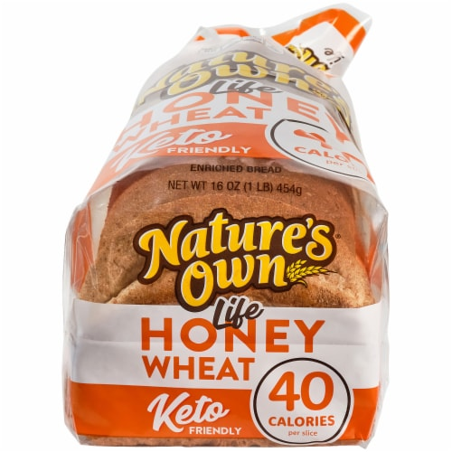 Nature's Own® Life Honey Wheat Bread Perspective: bottom