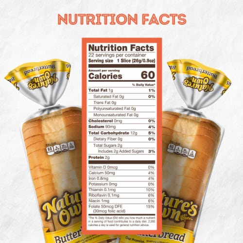 Nature's Own® Butterbread Perspective: bottom