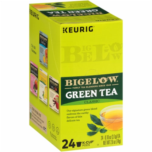 Bigelow Classic Green Tea K-Cup® Pods Perspective: bottom