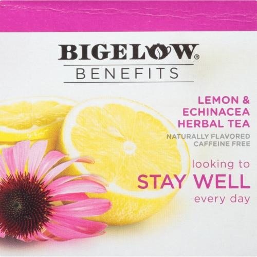 Bigelow Benefits Lemon & Echinacea Herbal Tea K-Cup® Pods Perspective: bottom