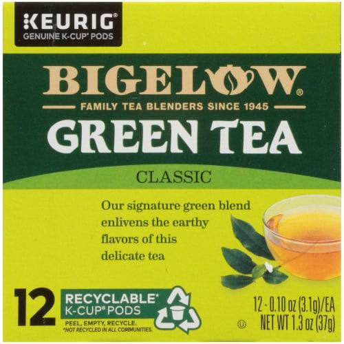 Bigelow Green Tea Classic K-Cup Pods Perspective: bottom