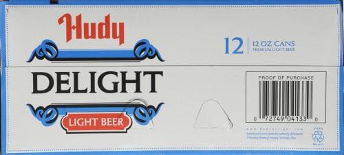 Hudy Delight Light Beer Perspective: bottom