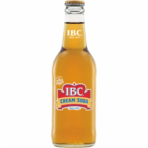 IBC Made with Sugar Cream Soda Perspective: bottom