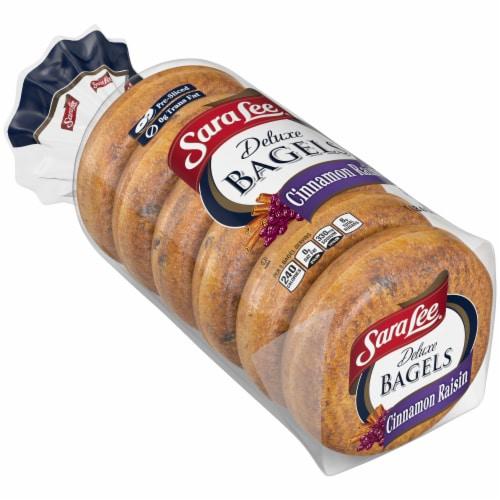 Sara Lee® Deluxe Cinnamon Raisin Bagels Perspective: bottom