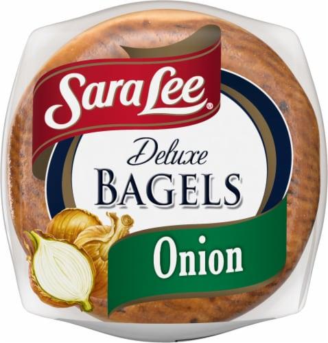 Sara Lee® Deluxe Onion Bagels Perspective: bottom