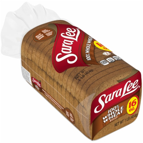 Sara Lee Classic 100% Whole Wheat Bread Perspective: bottom