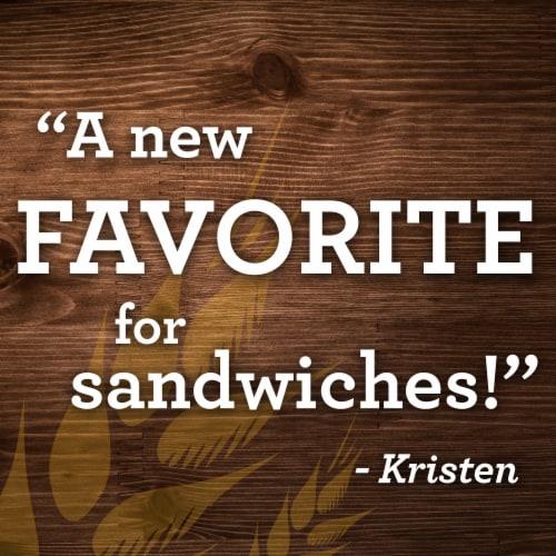 Sara Lee Artesano Golden Wheat Bakery Bread Perspective: bottom