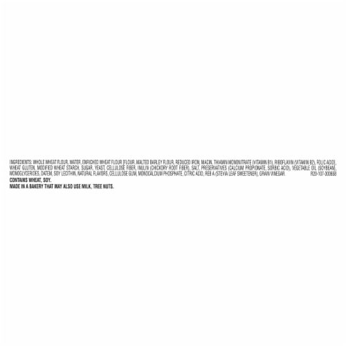 Sara Lee Delightful White Whole Grain Bread Perspective: bottom