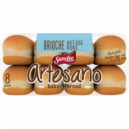 Sara Lee® Artesano Brioche Hot Dog Buns Perspective: bottom