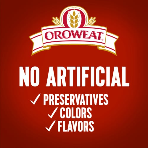 Oroweat Whole Grains 100% Whole Wheat Bread Perspective: bottom