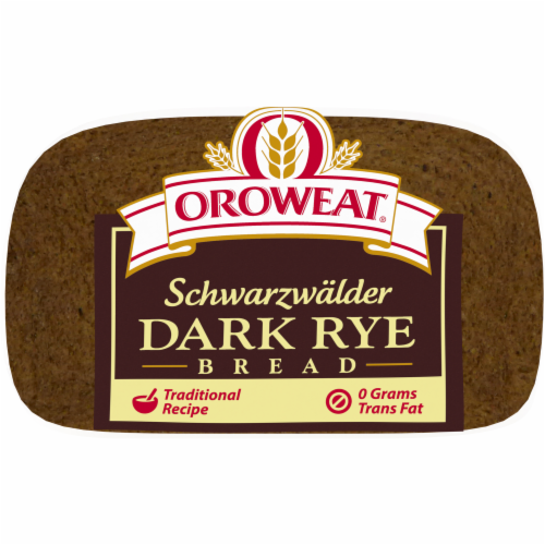 Oroweat Schwarzwalder Rye Bread Perspective: bottom