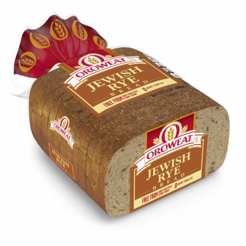 Oroweat Jewish Rye Bread Perspective: bottom