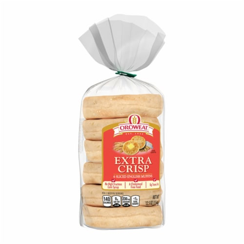 Oroweat Extra Crisp English Muffins Perspective: bottom