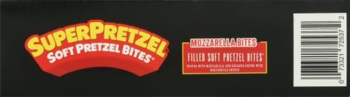 SuperPretzel Soft Pretzel Mozzarella Cheese Bites Perspective: bottom