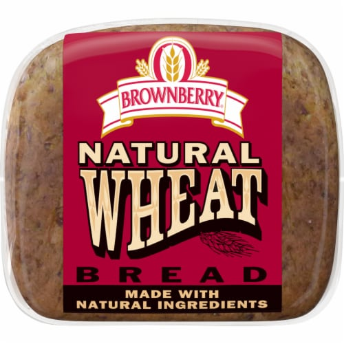 Brownberry Natural Wheat Bread Perspective: bottom