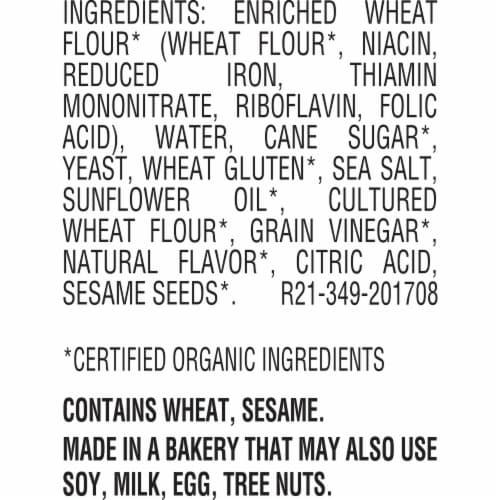 Oroweat Organic Rustic White Bread Perspective: bottom