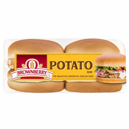 Brownberry® Country Potato Sandwich Buns Perspective: bottom