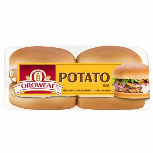 Oroweat® Potato Buns Perspective: bottom