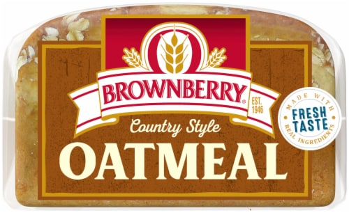 Brownberry Country Oatmeal Bread Perspective: bottom