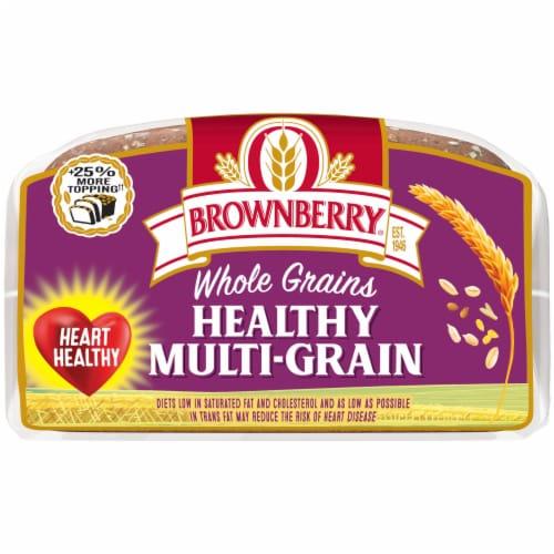 Brownberry Whole Grains Healthy Multi-Grain Bread Perspective: bottom