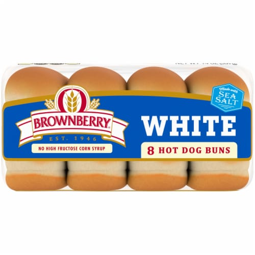 Brownberry® Country White Hot Dog Buns Perspective: bottom