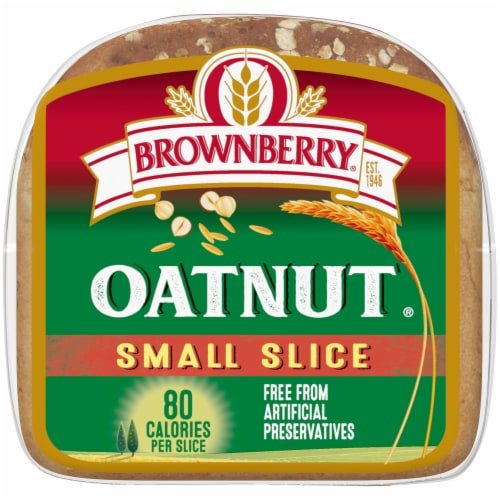 Brownberry® Oatnut® Small Slice Bread Perspective: bottom
