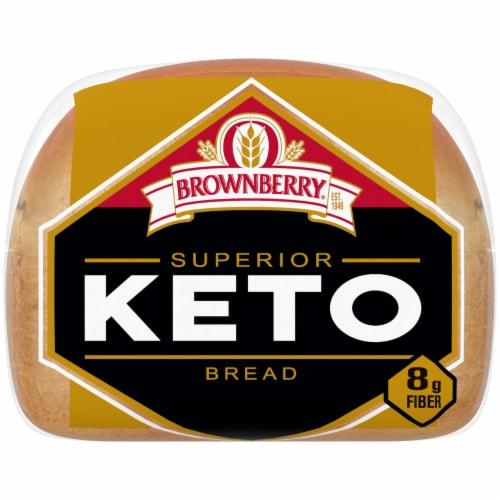 Brownberry Superior Keto Bread Perspective: bottom