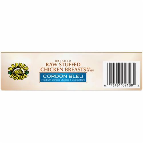 Barber Foods Cordon Bleu Breaded Raw Stuffed Chicken Breasts Perspective: bottom