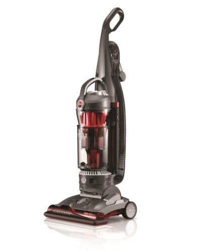Hoover® WindTunnel 3 High Performance Pet Vacuum - Red/Black Perspective: bottom