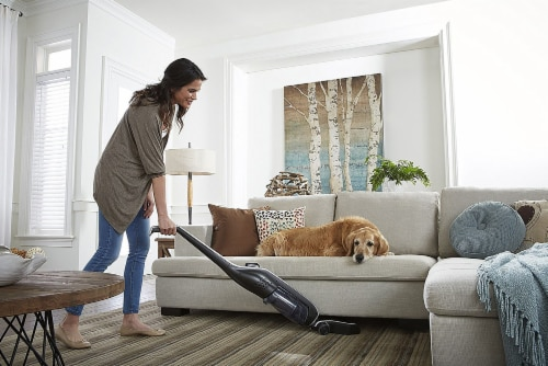 Hoover® Linx Signature Cordless Stick Vacuum - Black Perspective: bottom