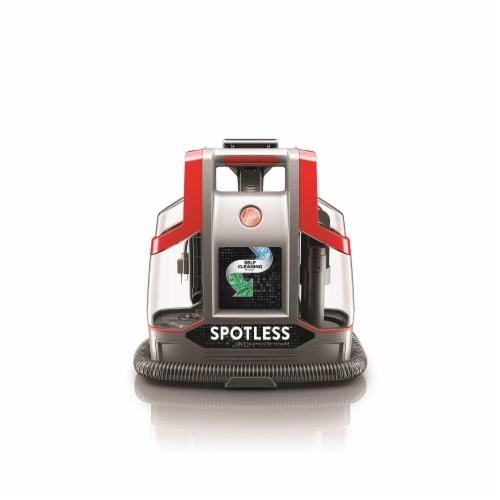 Hoover® Spotless Spot Cleaner - Red/Silver Perspective: bottom