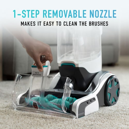 Hoover SmartWash + Automatic Carpet Cleaner - Gray/Green Perspective: bottom