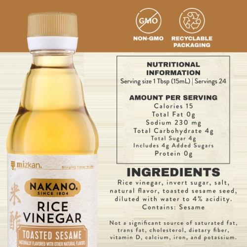 Nakano Toasted Sesame Rice Vinegar Perspective: bottom