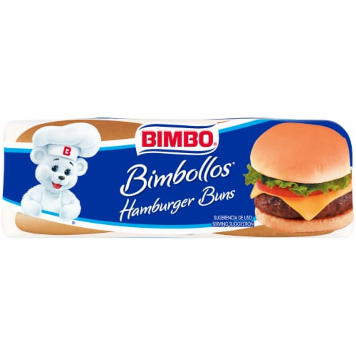 Bimbo® Bimbollos® Hamburger Buns Perspective: bottom