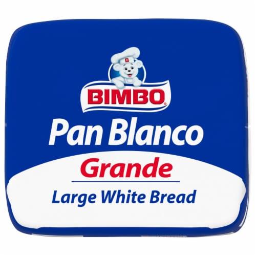 Bimbo® Large White Bread Perspective: bottom