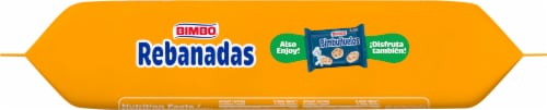 Bimbo Rebanadas Sweet Toast with Cream Perspective: bottom