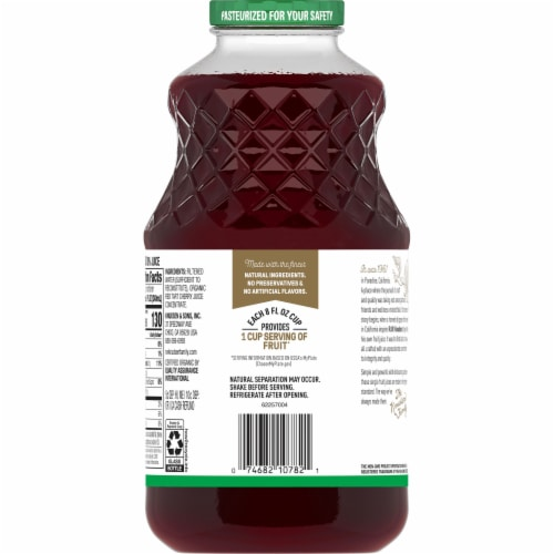 R.W. Knudsen Organic Just Tart Cherry Juice Perspective: bottom