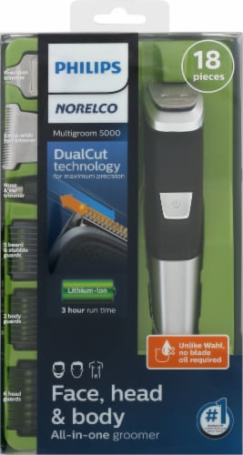 Phillips Norelco Multigroom 5000 All-in-One Trimmer Grooming Set Perspective: bottom