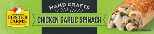 Foster Farms® Chicken Garlic Spinach Hand-Rolled Sandwiches Perspective: bottom