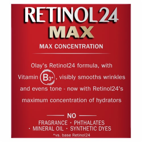 Olay Regenerist Retinol 24 Max Fragrance-Free Night Hydrating Face Moisturizer Perspective: bottom