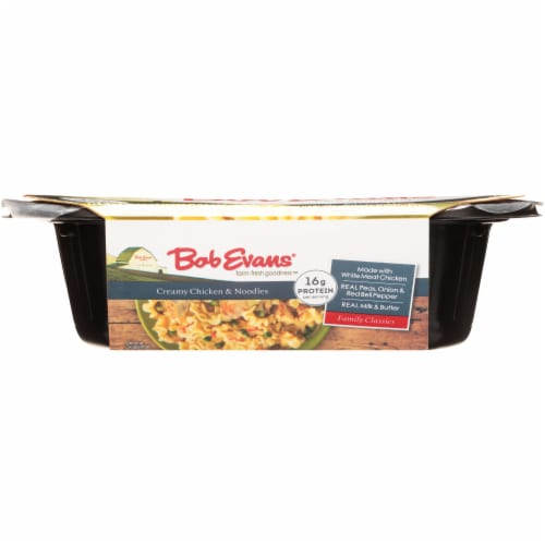 Bob Evans Creamy Chicken & Noodles Side Dishes Perspective: bottom