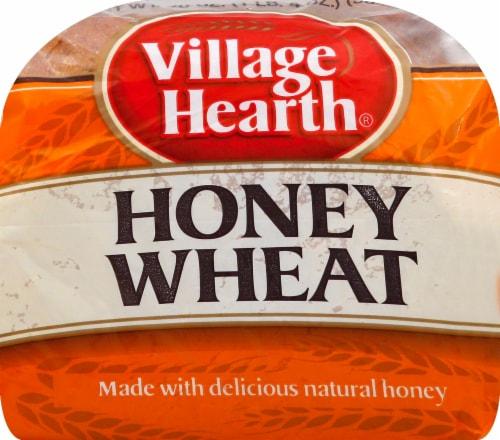 Village Hearth Honey Wheat Bread Perspective: bottom