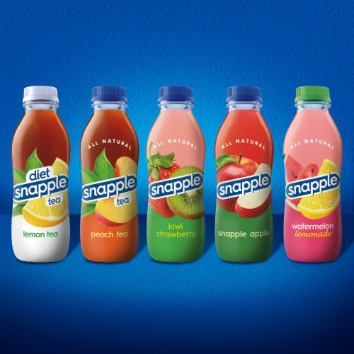 Snapple All Natural Takes 2 to Mango Tea Drink Perspective: bottom