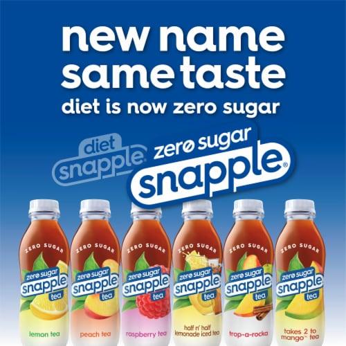 Snapple® Diet Peach Tea Perspective: bottom