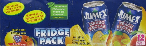 Jumex Peach & Mango Juice Perspective: bottom