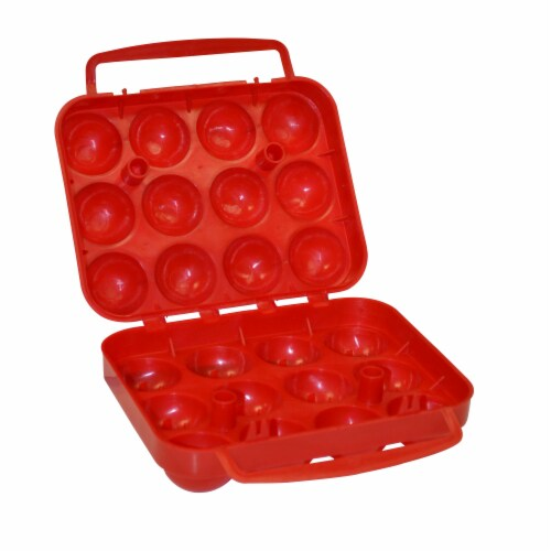 Coleman Plastic Egg Container Perspective: bottom